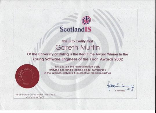 gazs software award