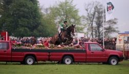 Mark King on King William Winner - Badminton Horse Trials 1992