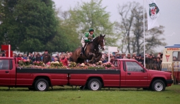 Mark King on King William Winner - Badminton Horse Trials 1992
