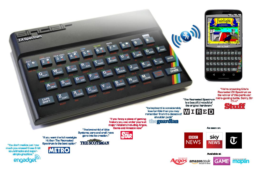 Recreated Zx Spectrum Montage