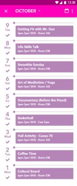 Student Life Activities Detail 3 – 1